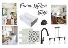 Kitchen Style Farm Moodboard Noelia Ünik Designs Remodeling Home