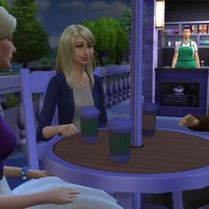 Brazen Lotus · TS4 Download: Auto NPCs (Barista and Stall Vendor)