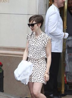 Lily Collins out and about in Paris,July 5, 2015