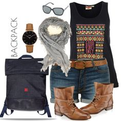 Backpack Backpacks, Polyvore, Outfits, Image, Fashion, Moda, Suits, Fashion Styles, Backpack