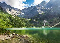Lac Morskie Oko Pologne (Tatras) - Poland