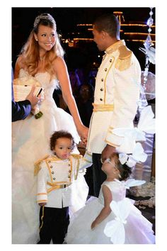 Wedding Magazine - Mariah Carey and Nick Cannon renew wedding vows on their fifth wedding anniversary at Disneyland in California. Thewedding anniversary is the same date as the birthday of their twins making it a double celebration.