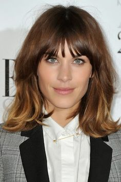 Taylor Swift Blonde Long Hairstyles Alexa-Chung-Ombre-Lo