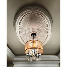 Ceiling Medallions for Ceiling Fans and Chandeliers. Commercial Sizes