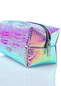 iridescent Skinnydip Cosmo Makeup Bag
