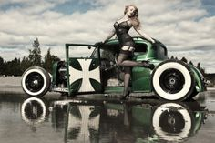 hot rods and pin up