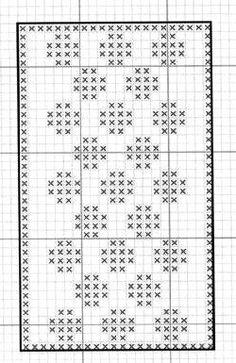 @nika Filet Crochet, Crochet Diagram, Thread Crochet, Crochet Doilies, Modern Cross Stitch Patterns, Crochet Stitches Patterns, Weaving Patterns, Knitting Charts, Knitting Stitches