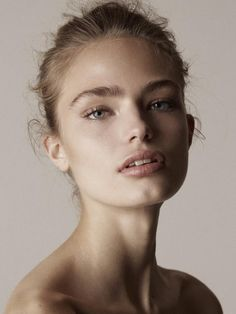 Simple, clean, minimal makeup. You can always add more during the shoot. alfadolls: anna milla guyenz