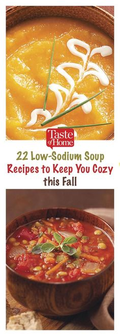 22 Low-Sodium Soup Recipes to Keep You Cozy this Fall Source by taste_of_home Low Sodium Soup, Low Sodium Diet, Low Sodium Lentil Soup Recipe, Low Sodium Meals, Low Carb, Cheap Clean Eating, Clean Eating Snacks, Healthy Eating, Healthy Foods