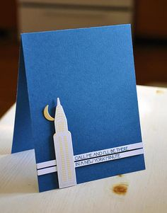 A New York Minute Card