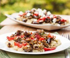 Quinoa With Eggplant