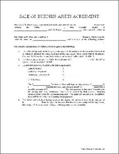 Service agreement template 226 general contract for services free basic sale of business assets agreement from formville business contract forms wajeb Images