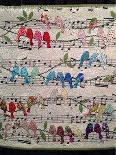 Singing bird quilt