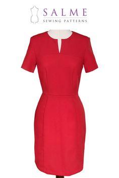 PDF Sewing pattern  Sandra Dress by Salmepatterns on Etsy, $8.00