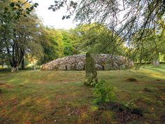 Clava Cairns near Culloden battlefield in Scotland. One of the most peaceful places I've ever been.