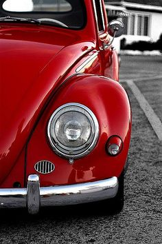 My first car was a cherry red Beetle 1968