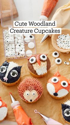 Cake Decorating Frosting, Cake Decorating Designs, Cake Decorating Techniques, Cookie Decorating, Fun Baking Recipes, Cupcake Recipes, Cupcake Cakes, Cupcake Ideas, Pretty Cakes