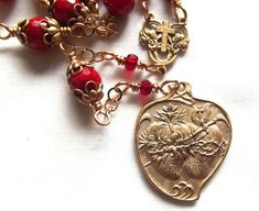 Sacred Heart & Immaculate Heart Chaplet The by VirgoPotensRosaries, $82.75