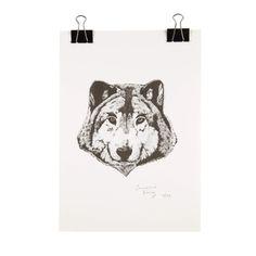 Product eb wolf in copy Mister Wolf, Picture Sizes, A3, Original Artwork, Digital Prints, Batman, Number, Superhero, The Originals
