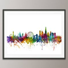Art print poster (frame not included) white background