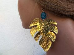 Your place to buy and sell all things handmade Butterfly Earrings, Leaf Earrings, Boho Earrings, Easter Gift For Adults, Floral Sundress, Pretty Packaging, Leaf Shapes, Acrylic Beads, Summer Trends