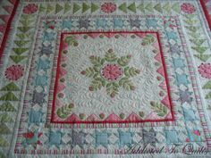 Addicted To Quilts: Medallion Quilt