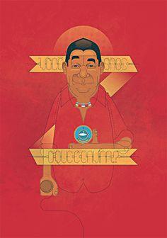 Alfabeto do Samba - Ilustrações