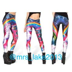 COMING SOON~Unicorn Leggings NWT. Please read picture for full details. These fit just like any other pair of leggings and are extremely comfy to wear. Please use the offer button if interested in a single item or the bundle feature if interested in 2 or more items. Sorry NO holds or trades. Pants Leggings