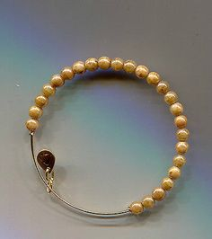 ALEX & ANI ENDLESS russian gold pearl color bracelet - http://designerjewelrygalleria.com/alex-ani/alex-ani-endless-russian-gold-pearl-color-bracelet/