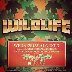 Wildlife w/ Casey Veggies @ Sound ~on~ August 7 Casey Veggies, Orange County, Wildlife
