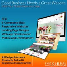 Choose Your Website designers in Bangalore with bunch of Talented Professionals @ http://www.indglobal.in/