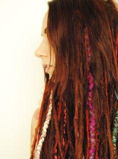 Hair wraps / dreadlock wrap how to make one | Dreadstuff