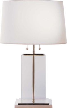 Designer Crystal Block Table Lamp, sharing beautiful designer home decor inspirations: luxury     living room, dinning room & bedroom furniture, chandeliers, table lamps, mirrors, wall art,     decorative tabletop & bathroom accents & gifts courtesy of instyle-decor.com Beverly Hills     enjoy & happy pinning