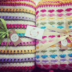 @ Benny Rens Creations: Free pattern & tutorial for Tulip Blanket & Heart Blanket
