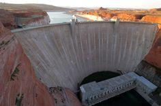 Glen Canyon Dam, Lake Powell, AZ