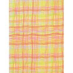 SheetWorld 100% Cotton Flannel Crib Sheet Set, Colorful Grid Yellow