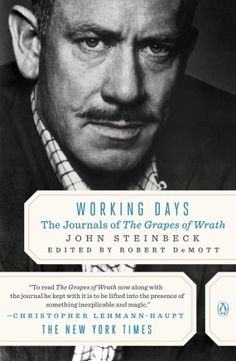 "How Steinbeck Used the Diary as a Tool of Discipline, a Hedge Against Self-Doubt, and a Pacemaker for the Heartbeat of Creative Work.  ""Just set one day's work in front of the last day's work. That's the way it comes out. And that's the only way it does."""