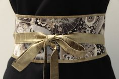 LUXE bronze Dupioni silk   charcoal grey by MyDivineBoutique, $45.00