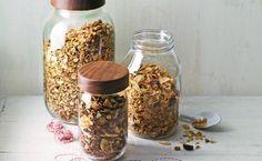 The Perfect Present: Three Easy-To-Make Granolas  http://www.prevention.com/food/healthy-granola-recipes