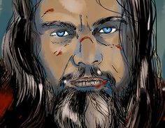 """Check out new work on my @Behance portfolio: """"The Revenant"""" http://be.net/gallery/34678559/The-Revenant"""
