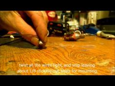 ▶ Make yer own Distributor and Spark Plug wires in 1/24 1/25 scale - YouTube
