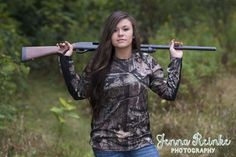 senior picture ideas for country girls camo - Google Search