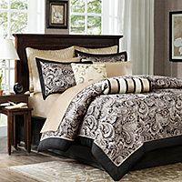 Madison Park Wellington 12-pc. Complete Bedding Set with Sheets Collection - Madison Park Wellington 12-pc. Complete Bedding Set with Sheets Collection