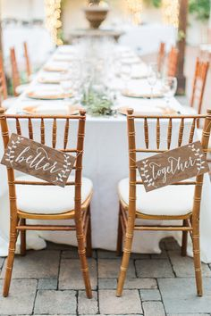 chair signs - photo