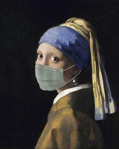 Mask on Behance Hypebeast Wallpaper, Van Gogh Art, Medical Art, Masks Art, Cultura Pop, Funny Art, Aesthetic Art, Art World, Collage Art