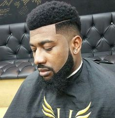 Like the slice at the top temple fade haircut