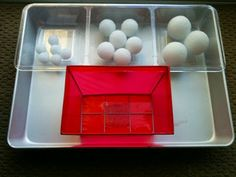 For the Love of Learning: Toddler Tray Activity - Sorting Small, Medium, & L...