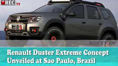 Renault Duster Extreme Concept Unveiled at Sao Paulo Brazil || Latest automobile news updates