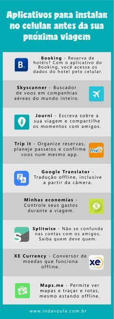 Guia dos melhores aplicativos de viagem para usar em 2017