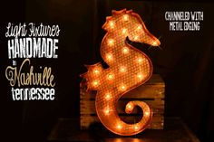 Marquee sign marquee letter Lighted Metal by TLNFunctionalArt, $185.00